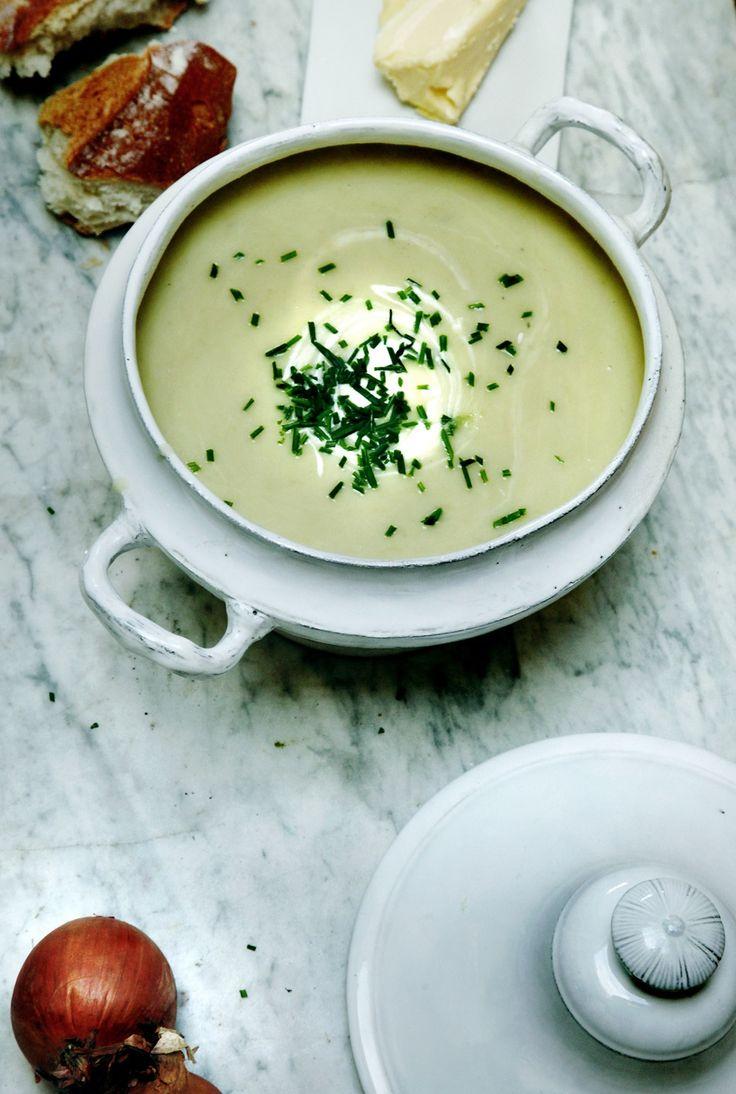 Crème Vichyssoise | Manger | Recipes - Soup | Pinterest