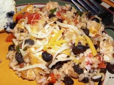 Mexican Chicken and Rice Casserole II Recipe