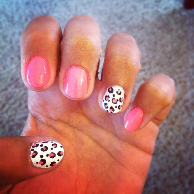 Cheetah nails. Cheetah nails. Cheetah nails. <3