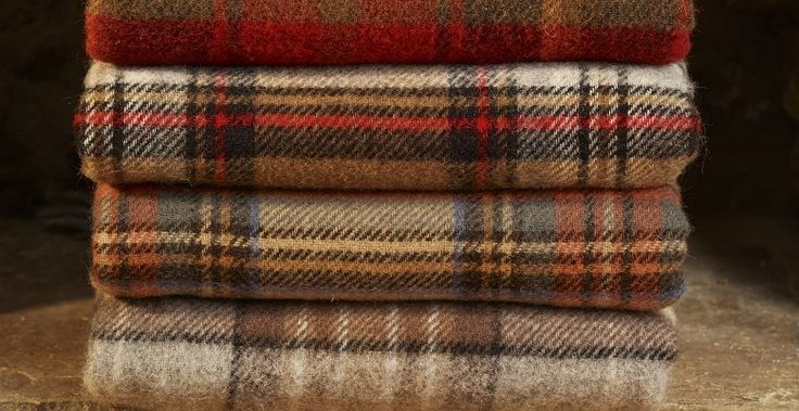 Pin By Throws Sofa Throws On 100 Pure Wool Tartan Throws