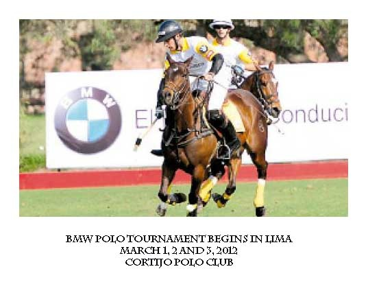 POLO TOURNAMENT BEGINS IN LIMA!!
