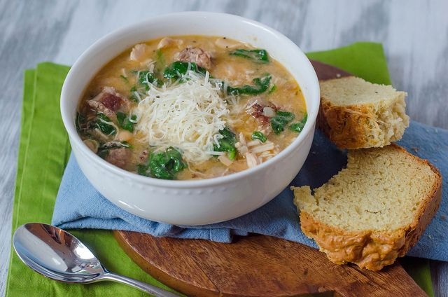 Crockpot Chicken and Sausage Stew | Recipes - Chicken | Pinterest