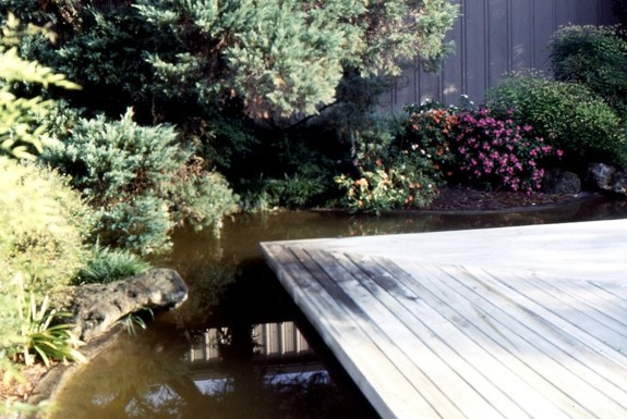 Deck Over Pond Garden Ideas Pinterest