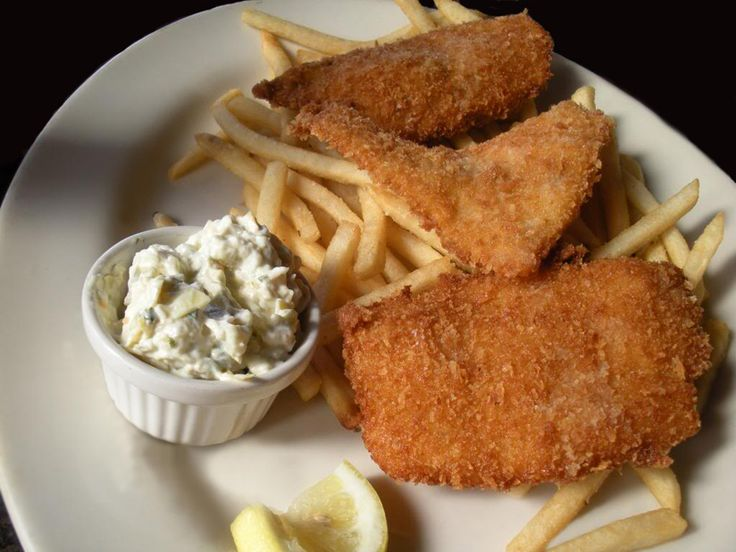 Fish and Chips with Tartar Sauce | Eat...By the Sea | Pinterest