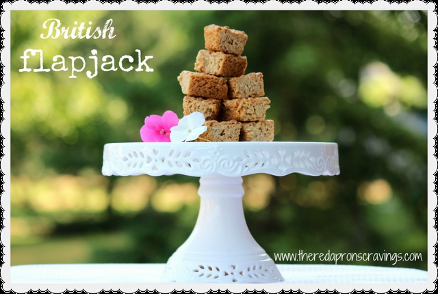 The Red Apron: British Flapjack | The Red Apron Blog | Pinterest
