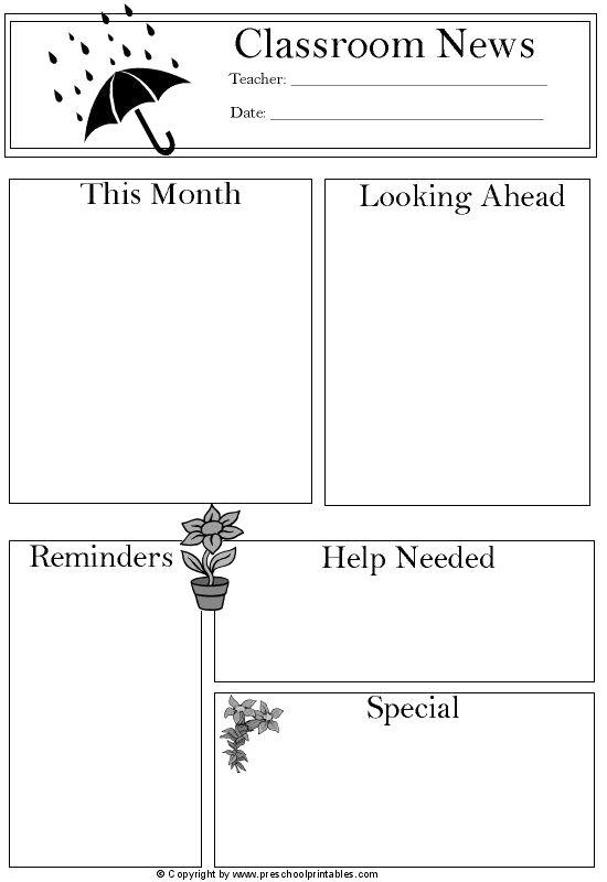 nesletter templates