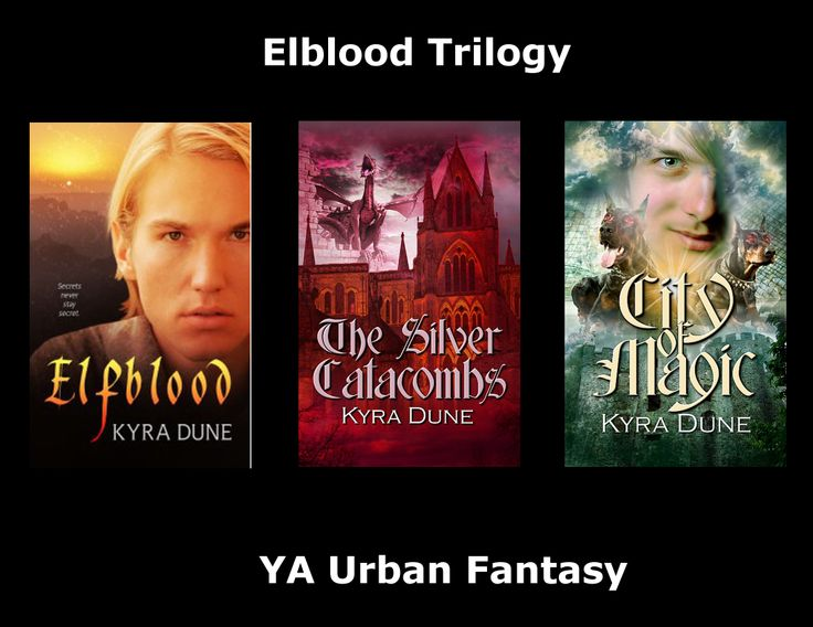 Elfblood Trilogy by Kyra Dune