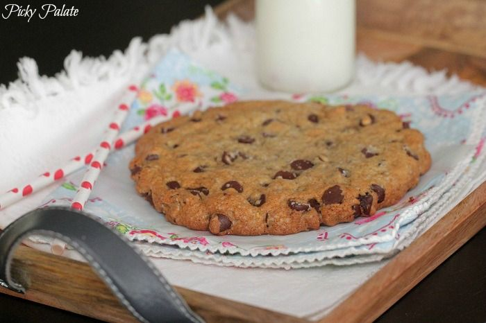 Brown Butter Salted Chocolate Chip Cookie for One - Picky Palate