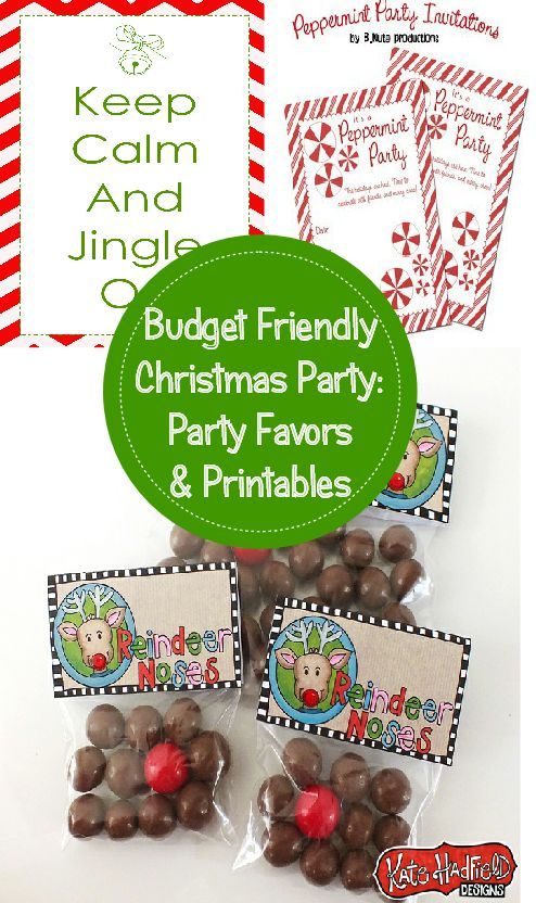 Budget Friendly Christmas Party Favors And Decorations Oh My Word