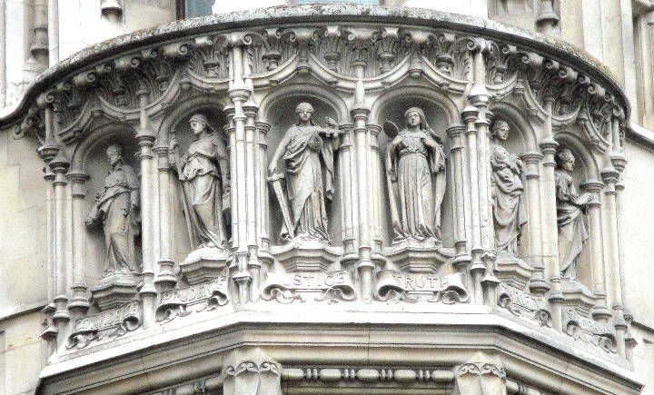 Pin by a kay on statues top of buildings pinterest