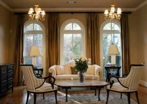 Gold Curtains Formal Living Room Pinterest