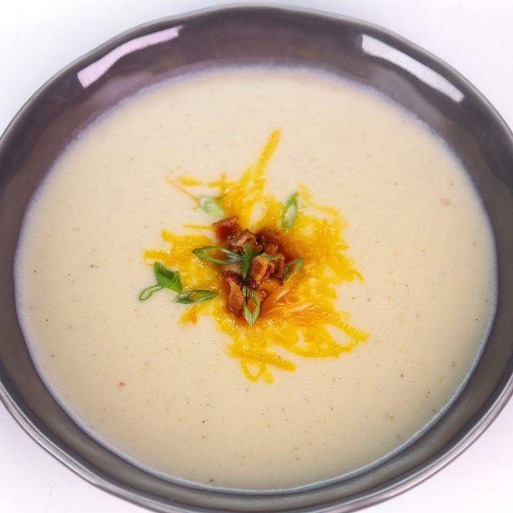Cheesy Potato Soup by Michael Symon | soups, stews, chili.... | Pinte ...