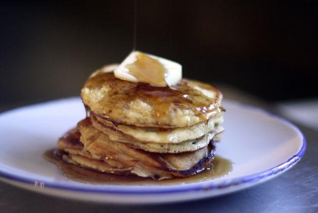 Edna Mae's Sour Cream Pancakes   Bread Recipes   Pinterest