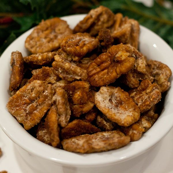 Candied Nuts   Recipes - Appys, Salads, Sides, Breads   Pinterest