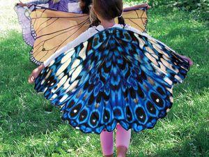 Бабочки к костюму своими руками 10