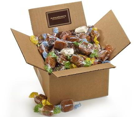 the most amazing salted Caramels