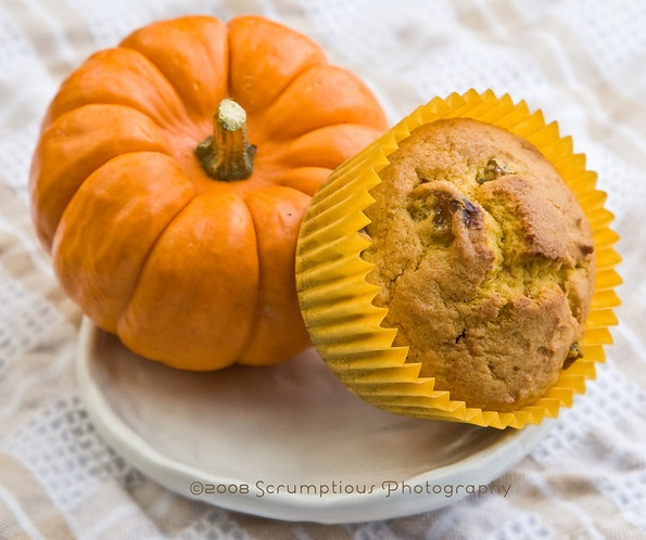 weight watchers pumpkin muffins! just mix one can of pumpkin and one ...