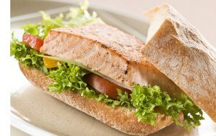 Blackened Salmon Sandwich Recipe from Get Healthier With Me newsletter ...