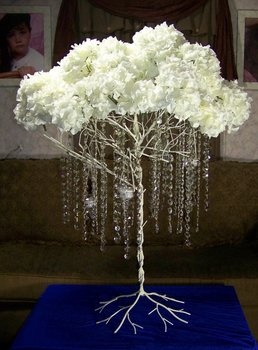 Wedding, Crystal, Tree