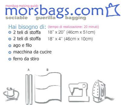 come cucire una borsa in 20 minuti