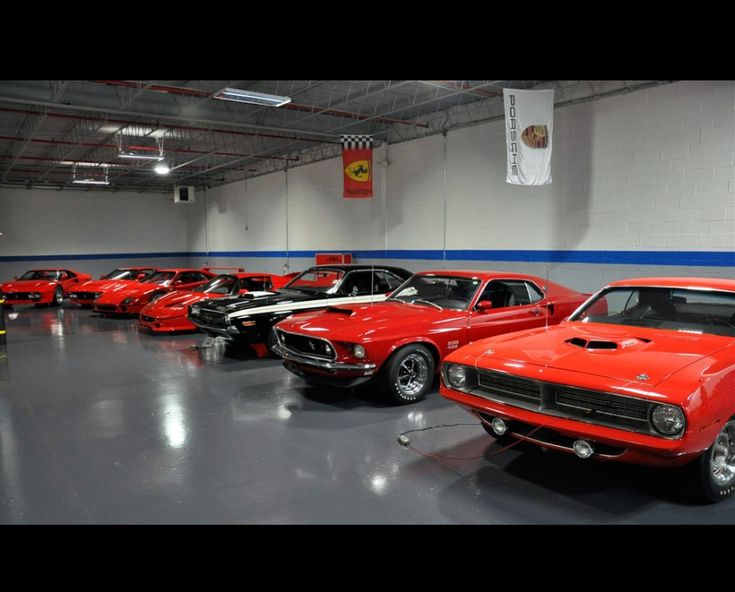 nice garage mean mad muscle cars pinterest. Black Bedroom Furniture Sets. Home Design Ideas