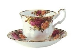 China cups and saucers make wonderful gifts for anyone who loves fine china.