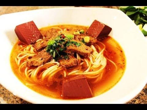 Bun Bo Hue - Vietnamese Spicy Beef Noodle Soup