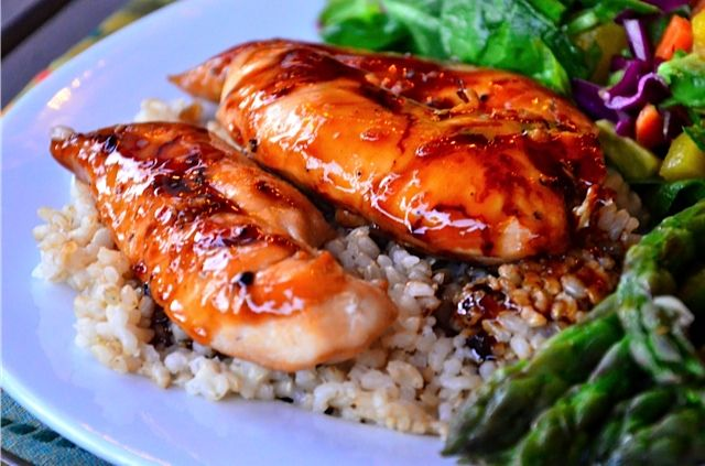 Baked Teriyaki Chicken Tenders (ReluctantEntertainer.com)