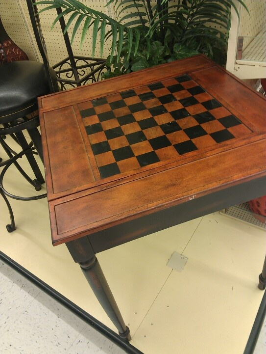 Chess Board Table Chess Checkers Pinterest