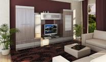 Модульная мебель в гостиную Альпина