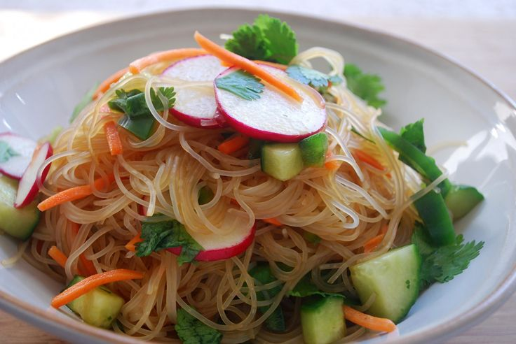Cold Asian Noodle Salad | Around the Planit | Pinterest