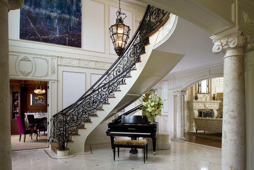 Amazing Foyer Dream Home Pinterest