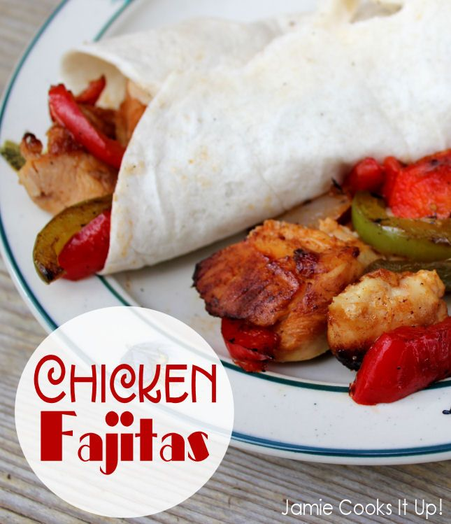 Chicken fajitas | Food | Pinterest