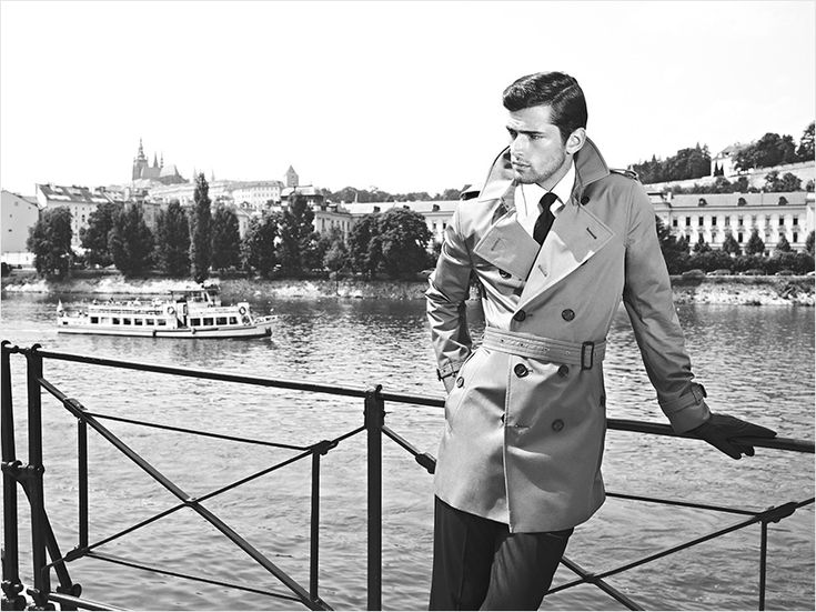 Classic Elegance | Sean O'Pry and Marloes Horst for SARAR F/W 2012-2013