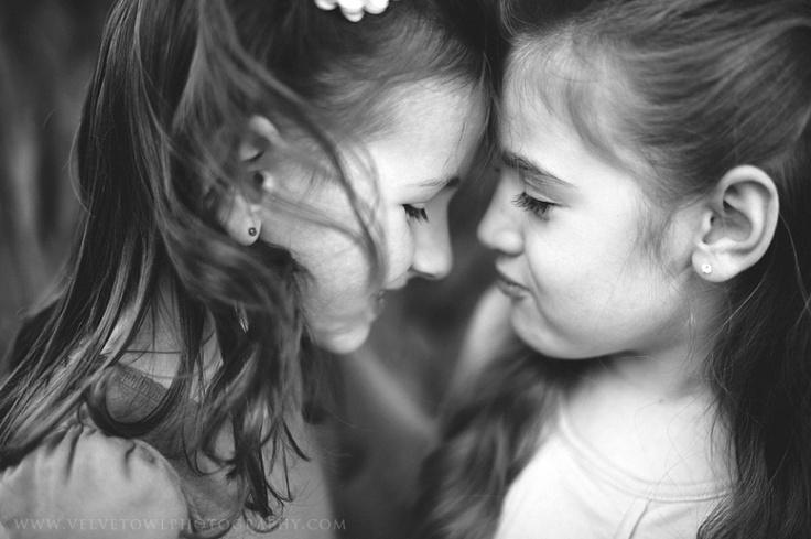best friends , children photography