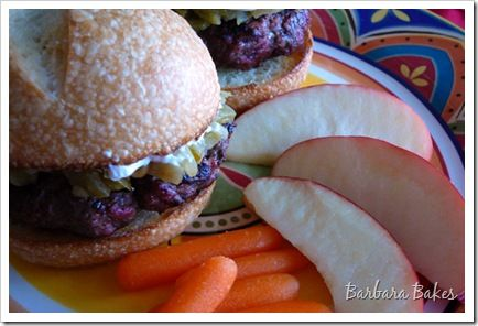 Green Chile and Cream Cheese Burgers | Recipe