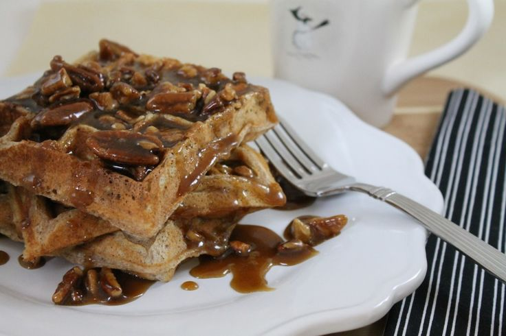 Monday Breakfast- Praline Waffles | Favorite Recipes | Pinterest