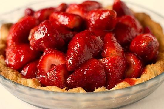 fresh strawberry pie mmmmm | Yum | Pinterest