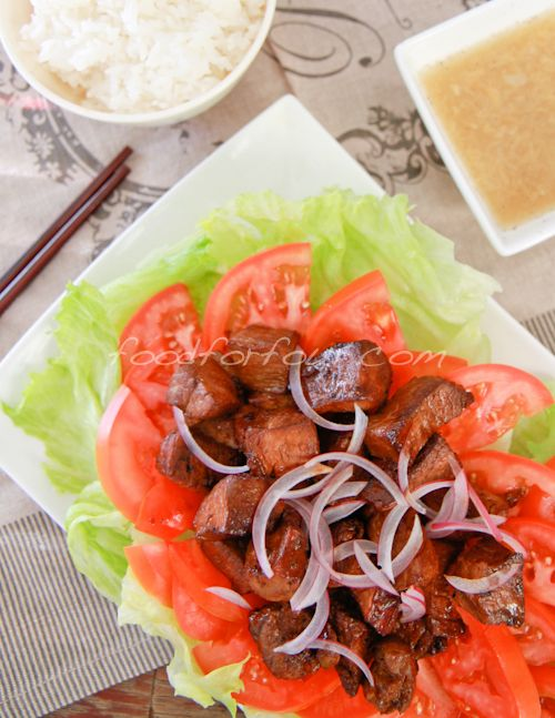 Bo luc lac (Vietnamese shaking beef) | The World, One Plate At A Time ...