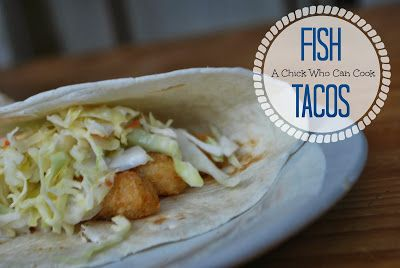 Super Simple Fish Tacos | Culinary Content Network | Pinterest