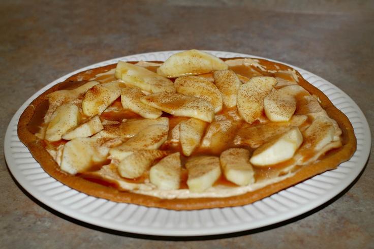 Apple Pizza | desserts | Pinterest