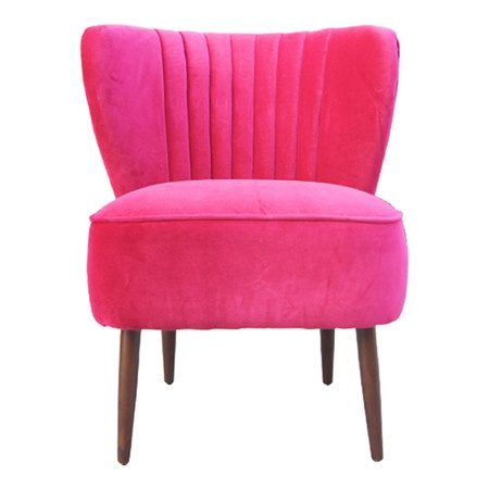 Pink Accent Chair Sit a spell