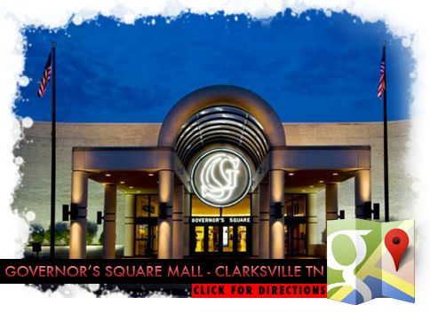 Governors Square Mall | Clarksville TN | Pinterest
