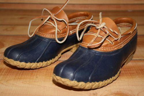 Bean Boots BY L L Bean USA Made Maine Blue Women S US 7 EU 37 5 Shoe