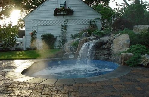 in ground hot tubs | Best Pins Today! | Pinterest