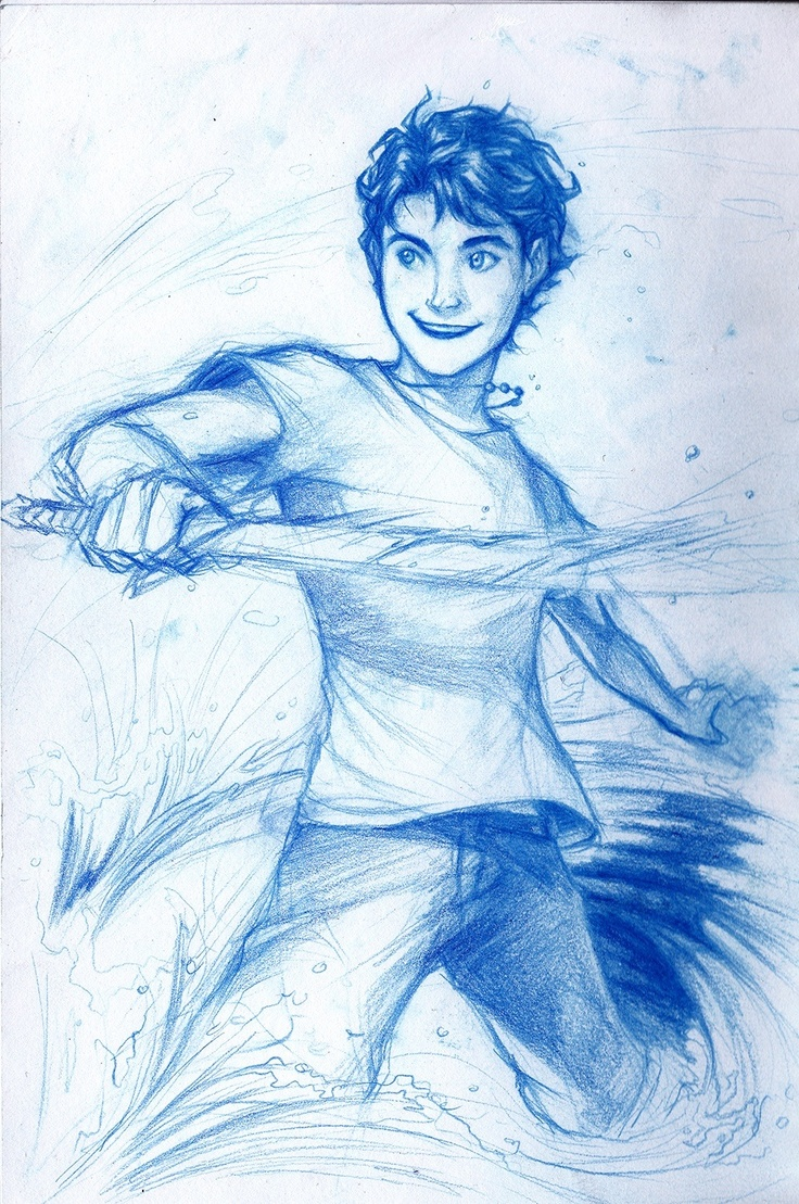 Percy Jackson Hermes Drawing Percy Jackson !