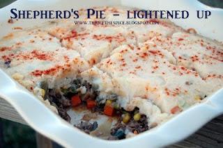 Shepherd's Pie - Lightened Up....healthy comfort food!