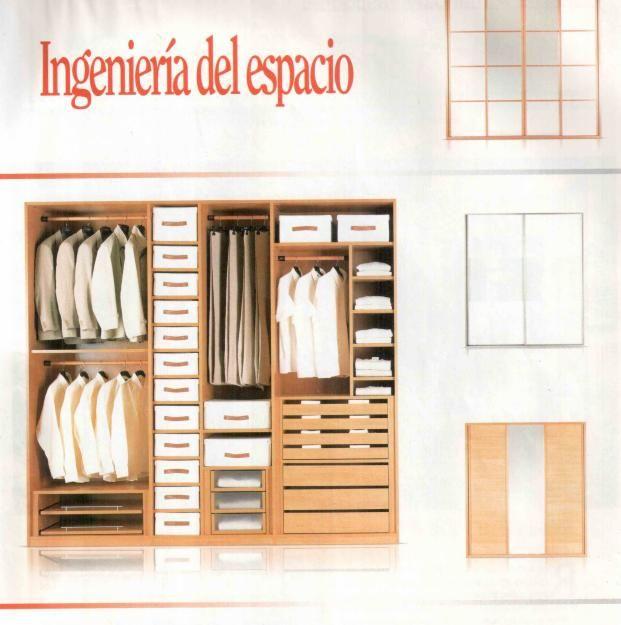 Closets for the home pinterest for Diseno de closet medidas