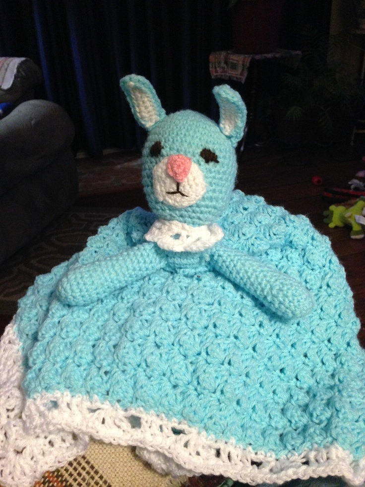 Crochet Bunny Blanket apexwallpapers.com