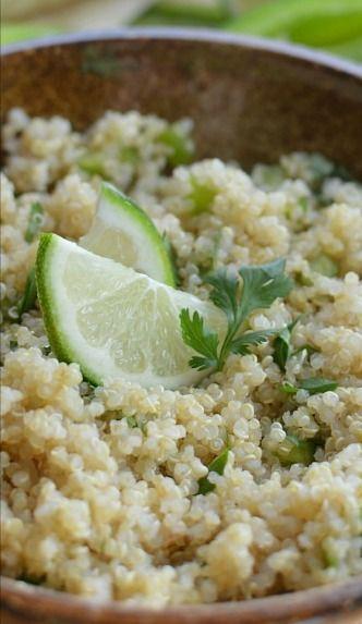 Cilantro Lime Quinoa | Recipe
